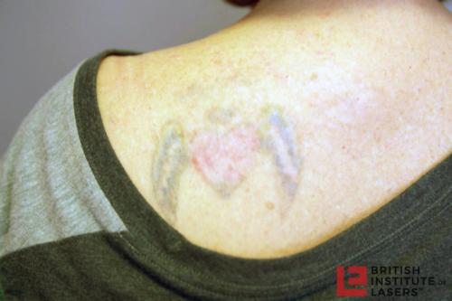 Heart & Name Tattoo 4