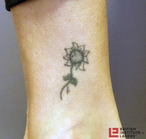 Small Sunflower Tattoo 1