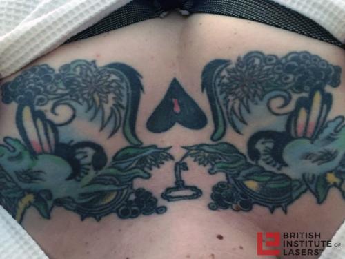 Unicorn Chest Tattoo 1